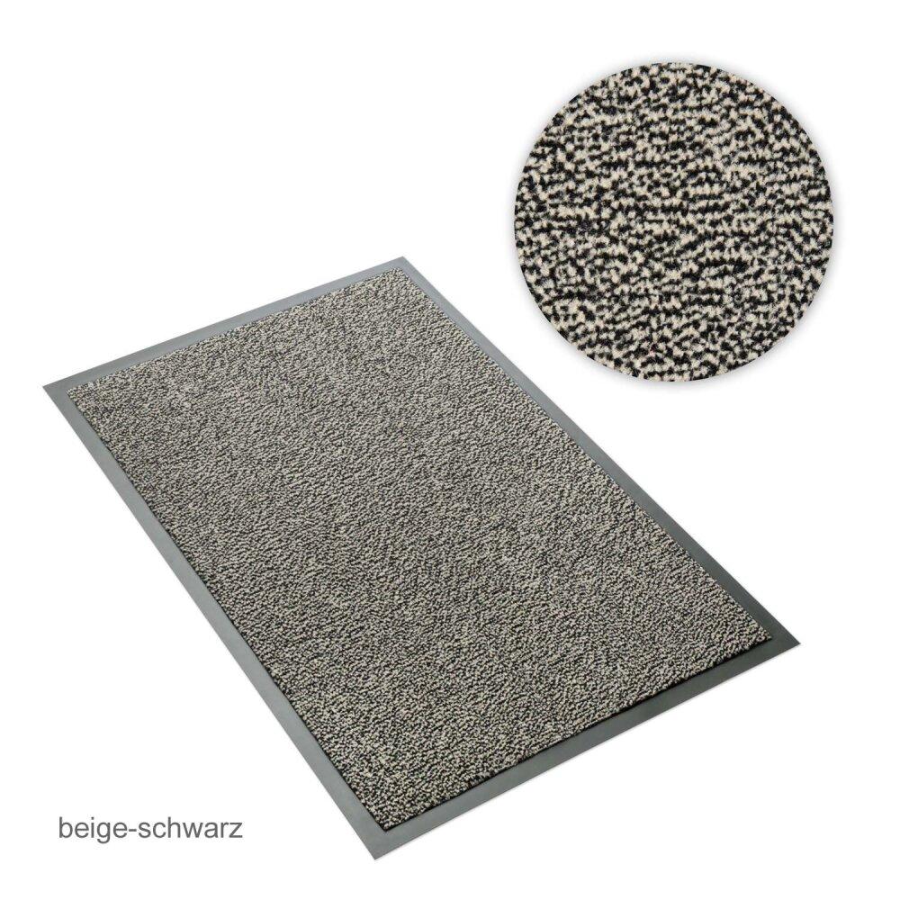 schmutzfangmatte sauberlaufmatte beige schwarz meliert 60 x 90 cm 9 95. Black Bedroom Furniture Sets. Home Design Ideas