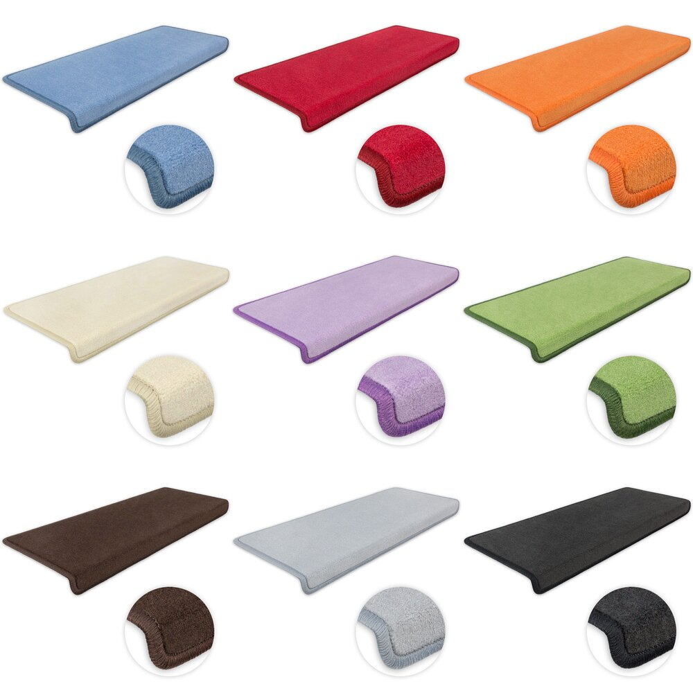 stufenmatten vorwerk uni rechteckig. Black Bedroom Furniture Sets. Home Design Ideas