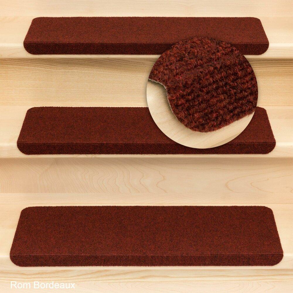 stufenmatten ramon mw rechteckig mit winkel einzeln und sparset s 2 75. Black Bedroom Furniture Sets. Home Design Ideas