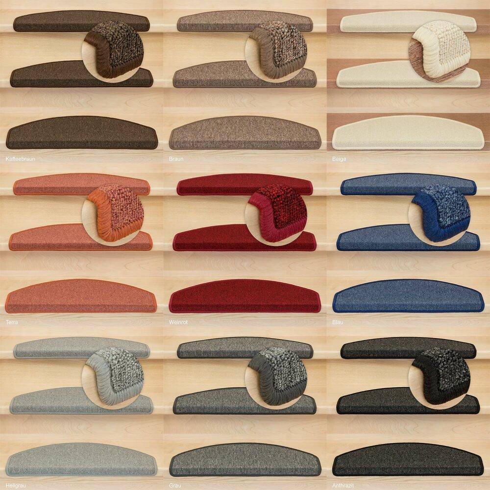 stufenmatten rambo und monza halbrund oder rechteckig stufenmatte 34 95. Black Bedroom Furniture Sets. Home Design Ideas
