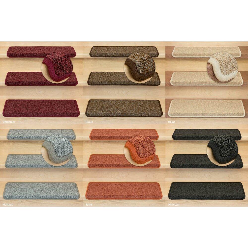 Metzker Stufenmatten Treppenstufen Matten Halbrund Rechteckig 15