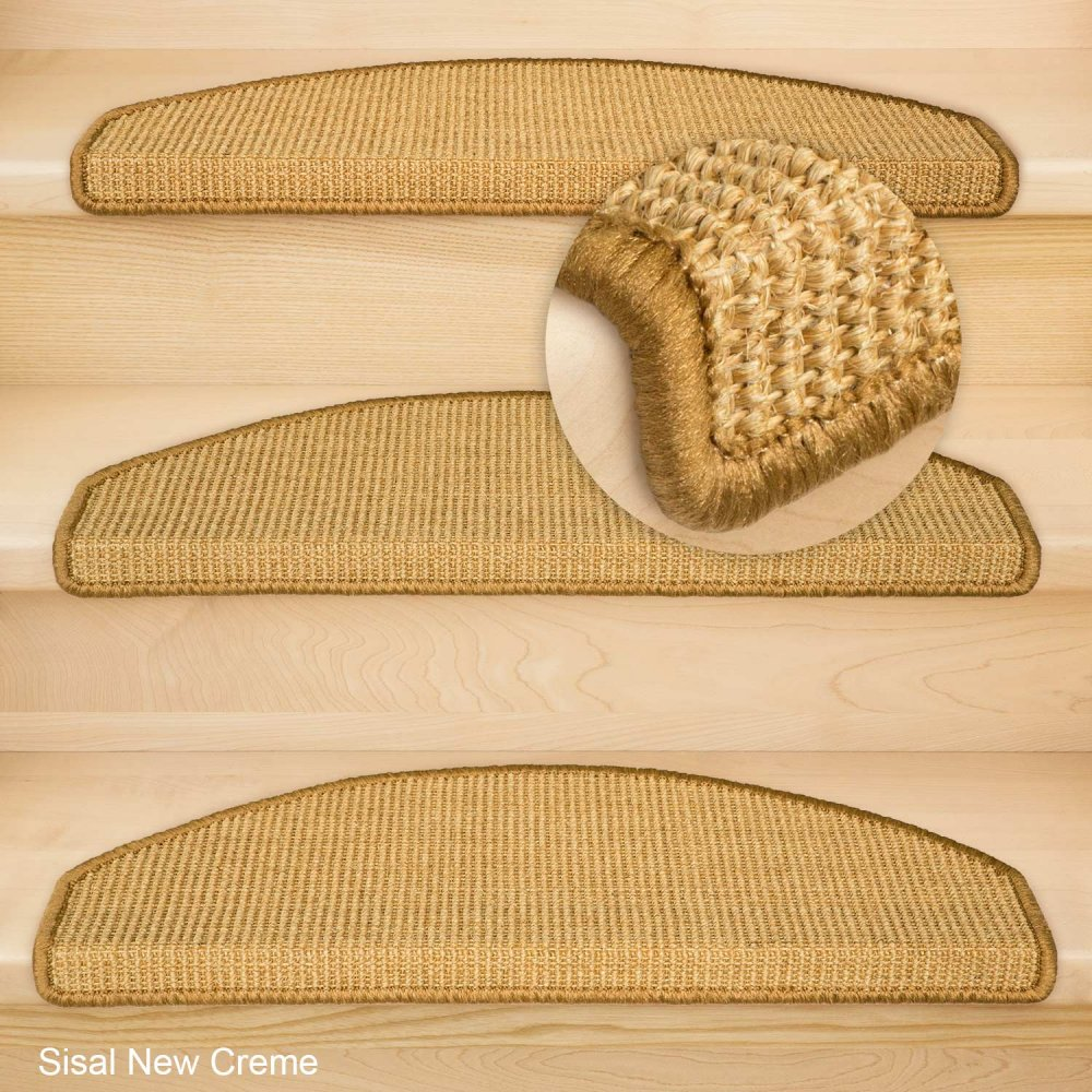 stufenmatten sisal new halbrund einzen und sparset 39 s 6 95. Black Bedroom Furniture Sets. Home Design Ideas
