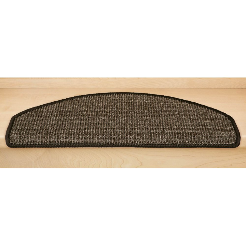 stufenmatten sisal new halbrund braun 14 st ck 83 90. Black Bedroom Furniture Sets. Home Design Ideas